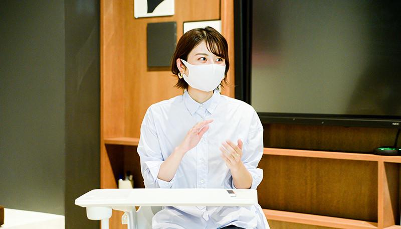 コクヨ株式会社ファニチャー事業本部 大嶋菜生さま